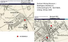 Ordnance survey maps - 1866 & 1926