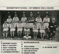 Barrington CP Cup Winners 1957