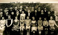 guide post school photo 1950