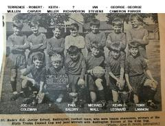 Football team 1965-66 season