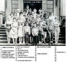St Bedes Isle of Man school trip c1961