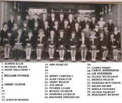Westridge class of 1965. - posted by Alan Charlton on Bedlington Remembered