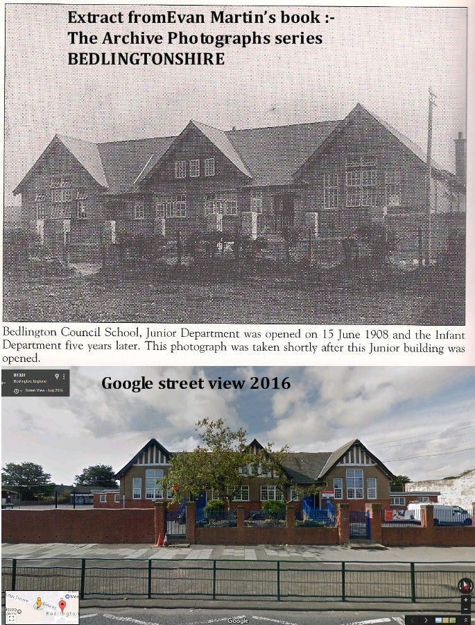 Then c1908 and Now 2016
