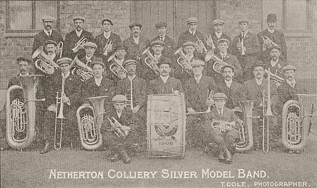 Netherton Colliery Silver Model Band 1906