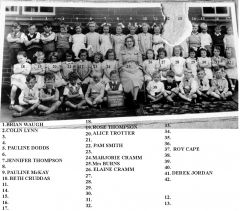 Bedlington Stationn Primary School 1950 Class 10