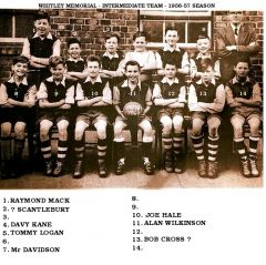 1956-57 Intermediate team