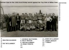 Bottom Club team 1954
