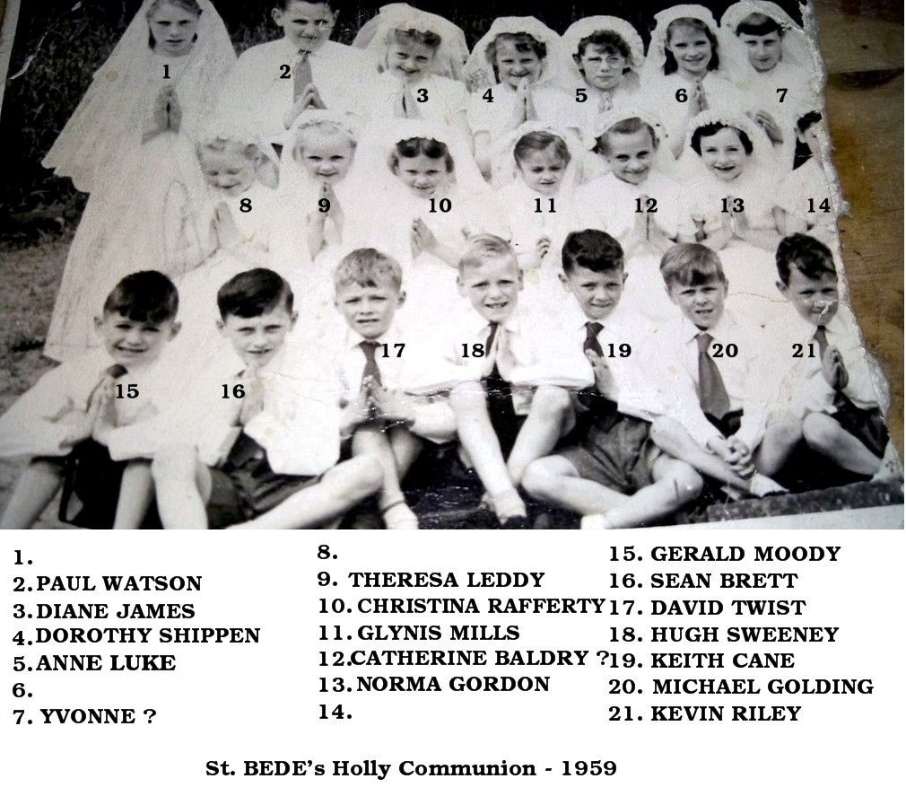 1959 - Holy communion