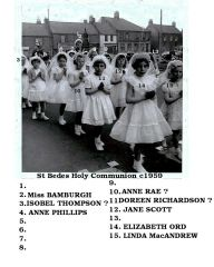 1959 Holly Communion