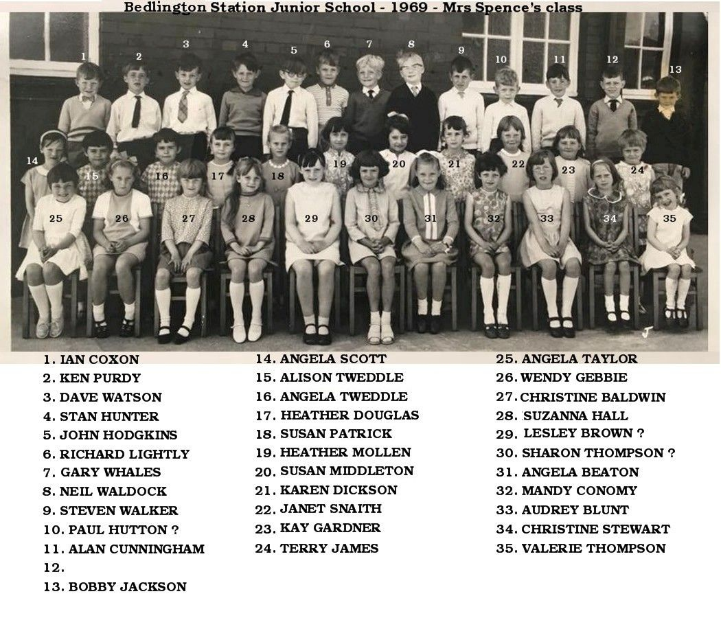 1969 Mrs Spence's class named.jpg