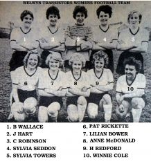 Welwyn Tranistors team named.jpg