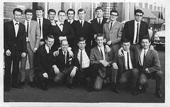 Cambois Rowing Club football team 1966.jpg