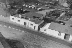 Bedlington Doctor Pit View of Offices 1965.jpg
