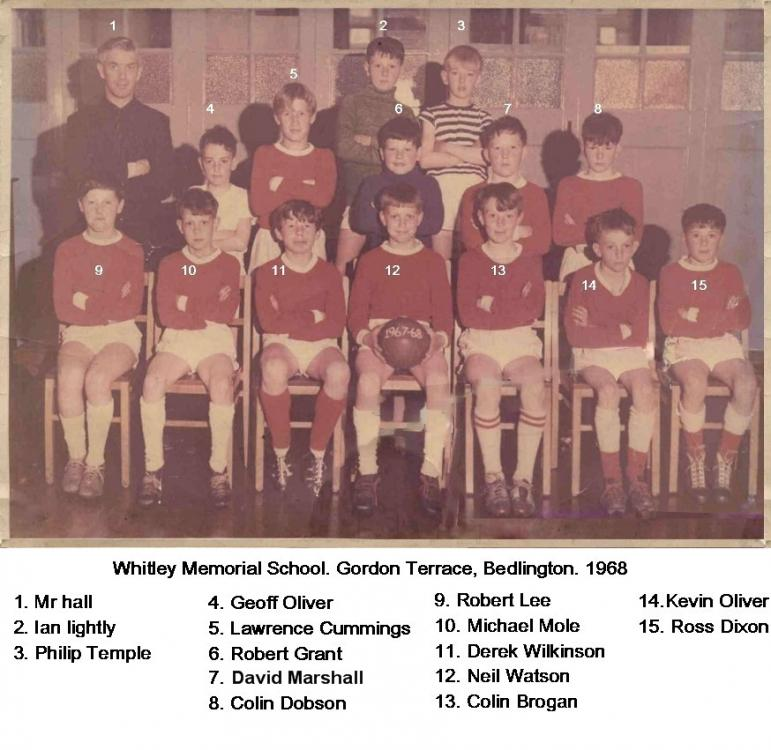 Whitley_Memorial_1967_8 Football team with names.jpg