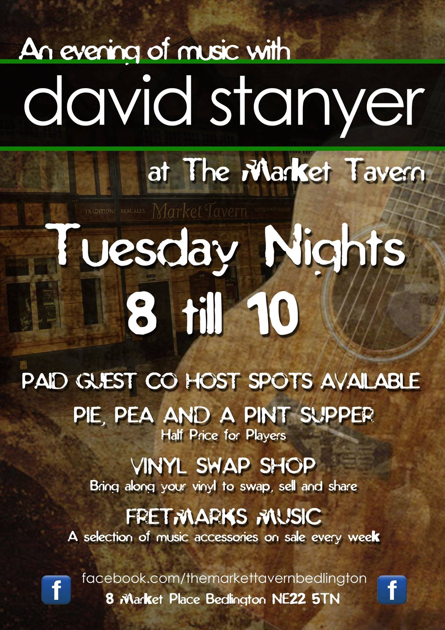 An Evening of Live Music at the Market Tavern
