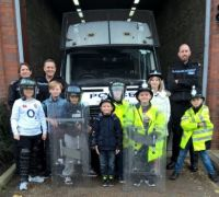 Read more about Youngsters enjoy their police station visit