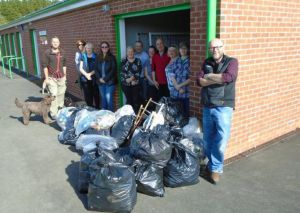 Read more about Litter-pickers spruce up their park