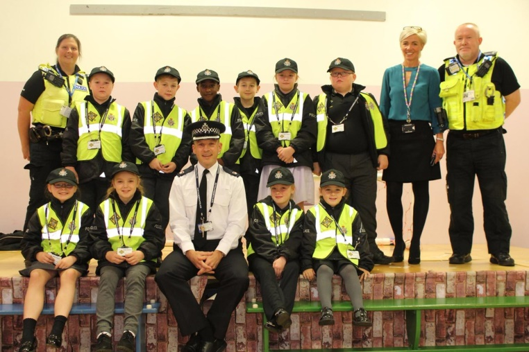Mini Police go from strength to strength as new recruits enroll