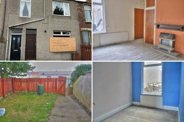 This flat is close to a well-rated school and going to auction from £14,000 - but there's a reason