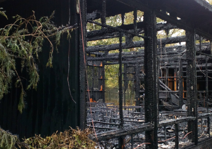 Sprinklers call to Government following big fire
