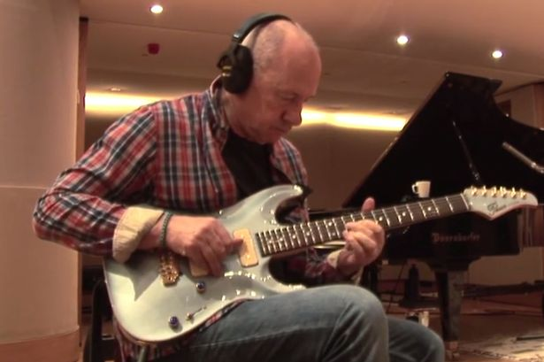 Watch Mark Knopfler perform the Last Post for the fallen Remembrance Day