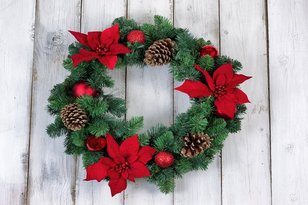 Wreath making workshops at Hepscott Park