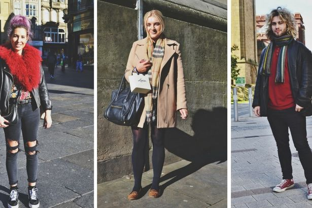 Fashionable winter scarves worn by stylish Newcastle folk - and where to buy them