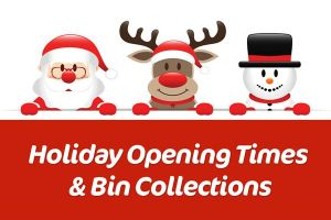 Read more about Holiday bin collections and service opening times this Christmas