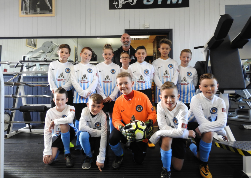 Kit sponsorship boost for junior team