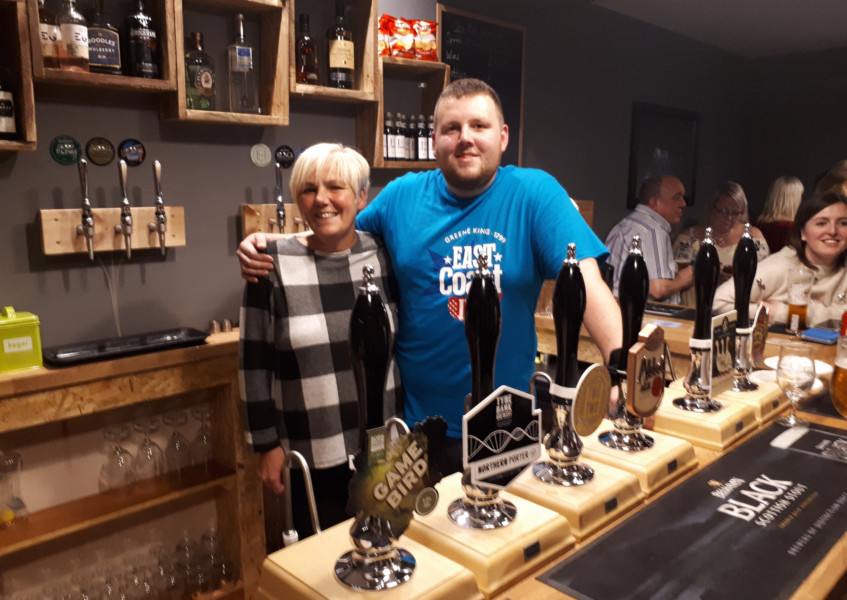 Local beers on offer at new micropub