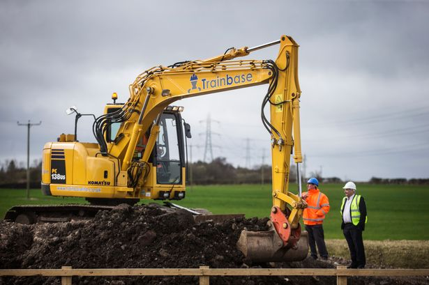 Trainbase construction training centre continues to break new ground