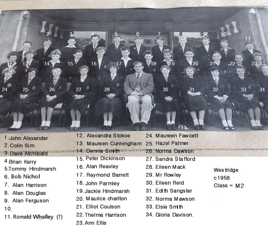 Westridge c1958 names.jpg