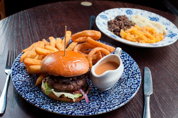Haggis burger anyone? Check out the Burns Night special dish - which comes with a whisky sauce