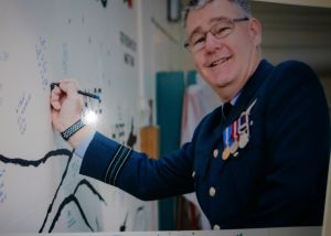 Read more about Stephen makes his mark on RAF wall
