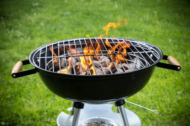What are the rules for having a barbecue in the North East's parks and beaches?
