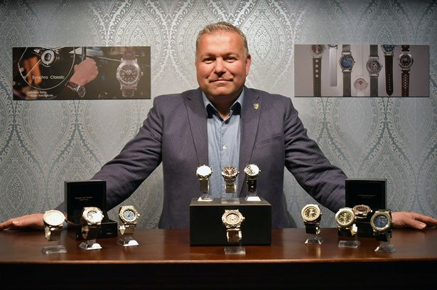 Northumberland man launches business making bespoke watches