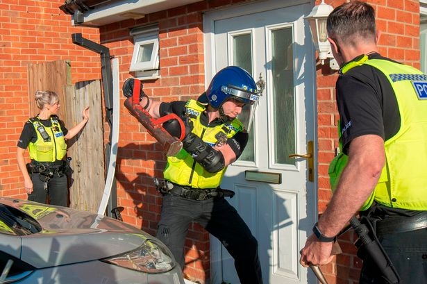 10 arrested on suspicion of supplying class A drugs during raids across Northumberland