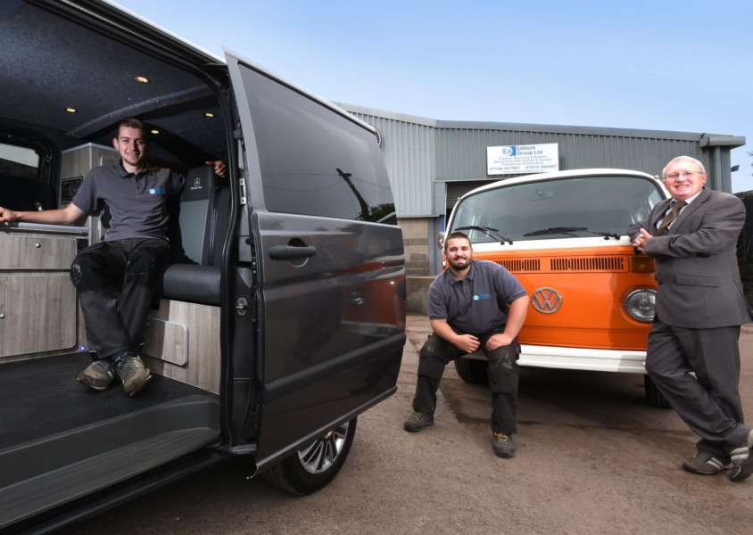 Pair are on the road to success with new Bedlington business