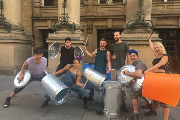 Stomping back to Newcastle, hit show drums up interest with city centre preview