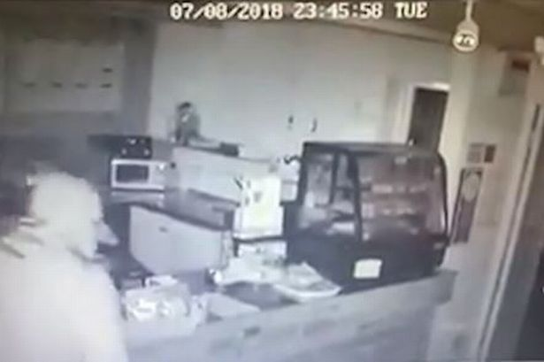 Watch as cruel masked thieves raid family-run Bedlington cafe in the early hours