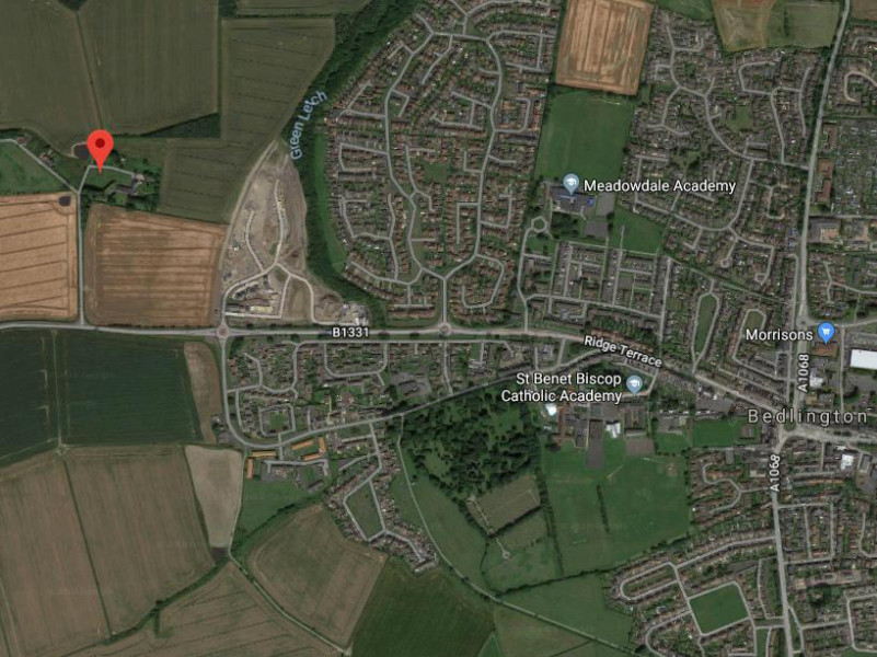 Homes rejected over open-countryside location