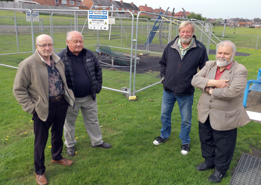 Council's plans for play area go up in flames