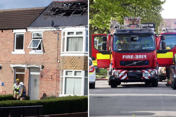 Patient rushed to hospital after Ashington house fire