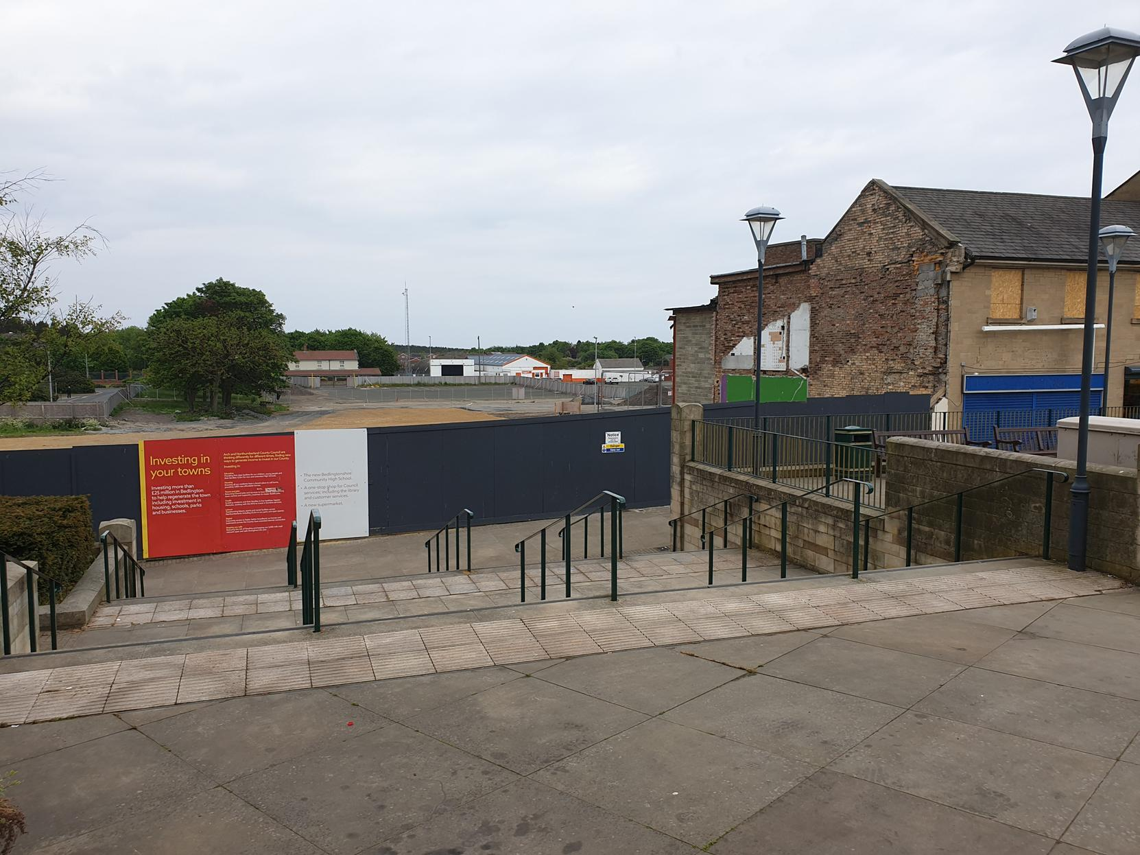 Bedlington town-centre project to get back on track with £1.4m council funding