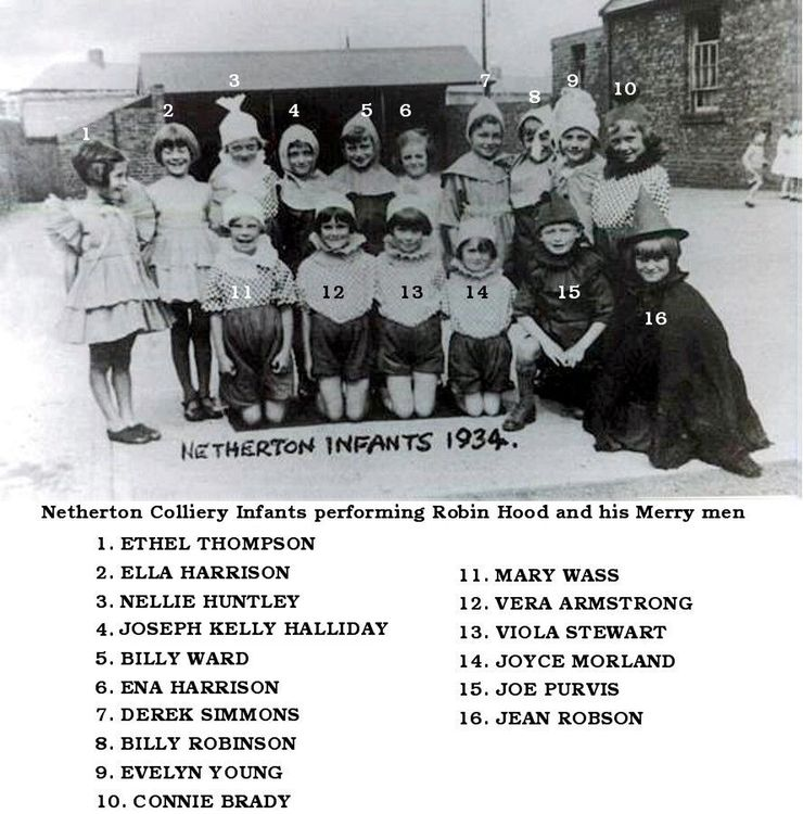 Netherton Colliery Infants 1934 named.jpg