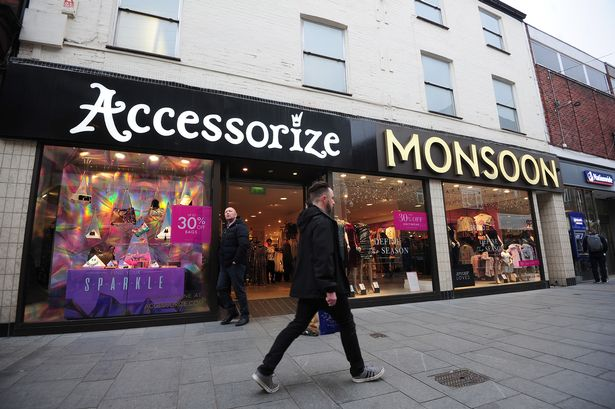 Full list of Monsoon Accessorize stores to close as 545 jobs to be axed