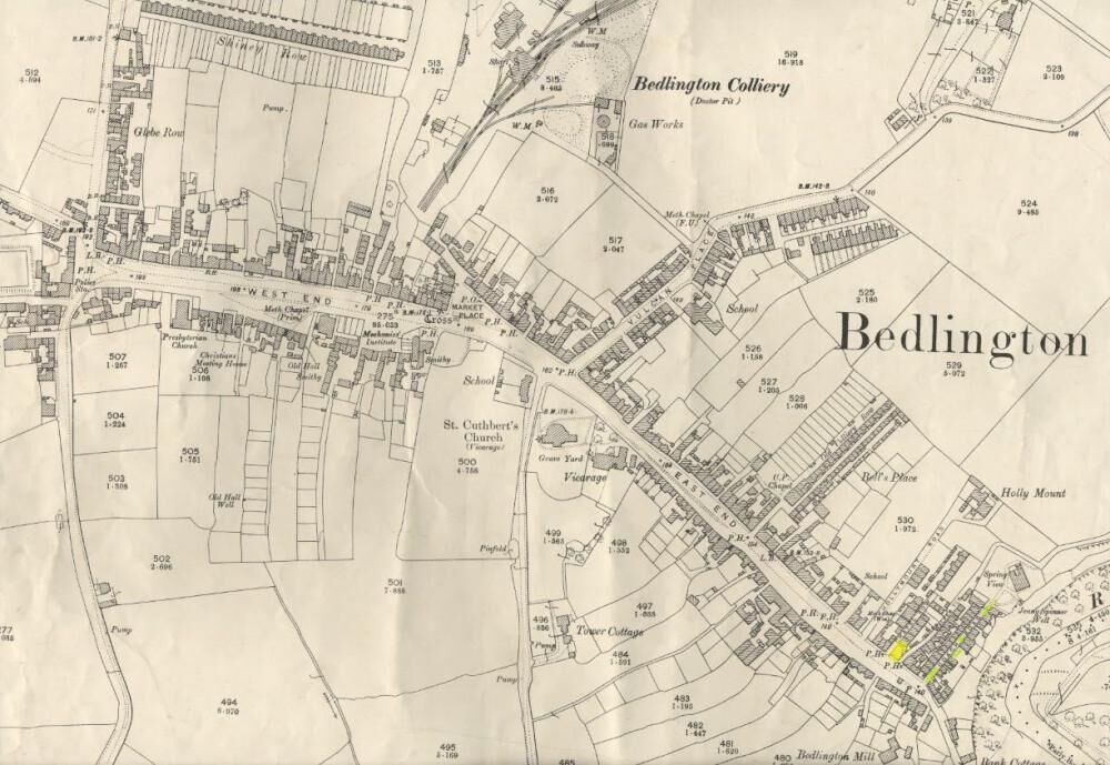 1897 OS map Bedlington.jpg