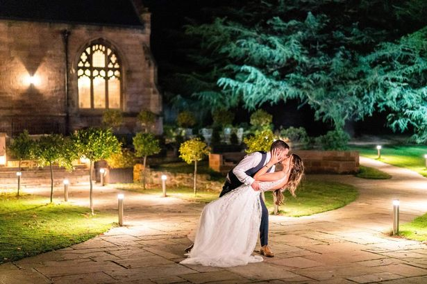 Couple drive 400 miles to beat lockdown for 'dream' Northumberland wedding
