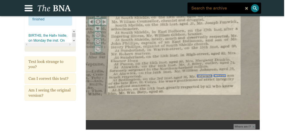 Screenshot_2021-03-19 Births, The Halt« Histle, On Monday The Inst On The V Ouls ° ° F Son and Heir At Gteat Newcastle Jour[...].png